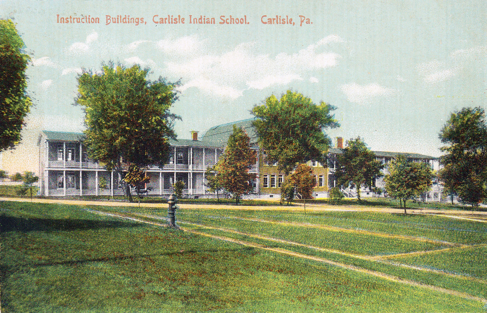 Instruction Buildings, c.1908
