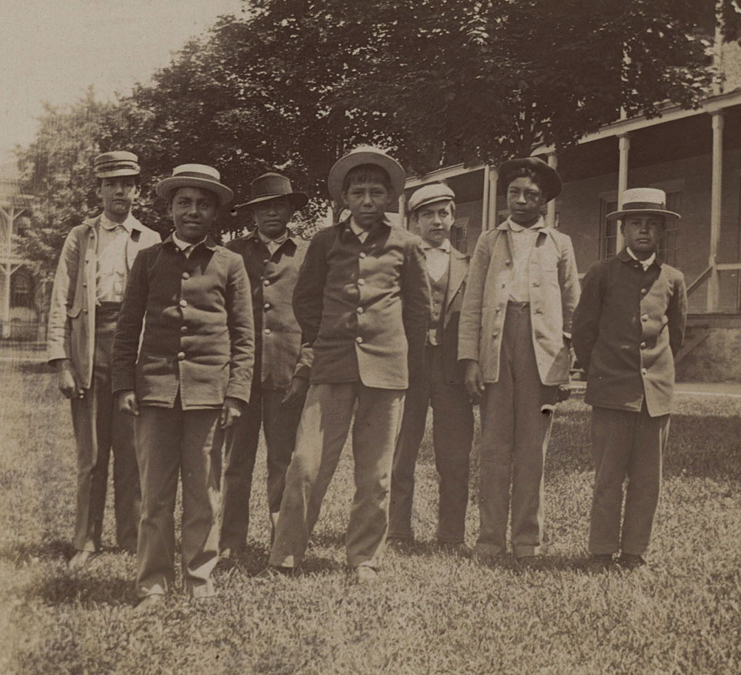 Group of Indian Boys, 1899