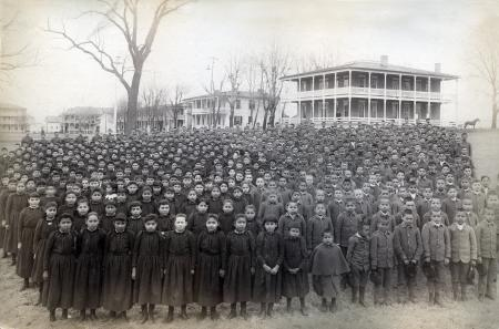 Carlisle Indian School Student Body, 1892