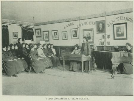 Susan Longstreth Literary Society's Room