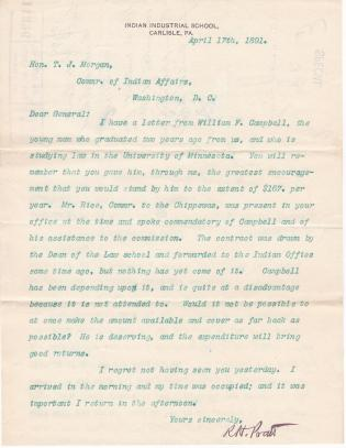 Request to Make Money Available for William F. Campbell