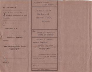 Bequests to the Carlisle Indian School