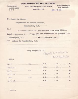 Condemnation of Unserviceable Property, 1908-1909