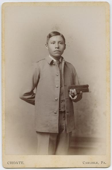 Unidentified male student #43, c.1885