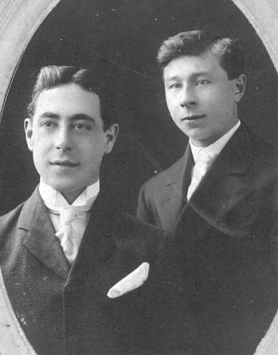 Isaac Gould and Paul Dirks, c.1906