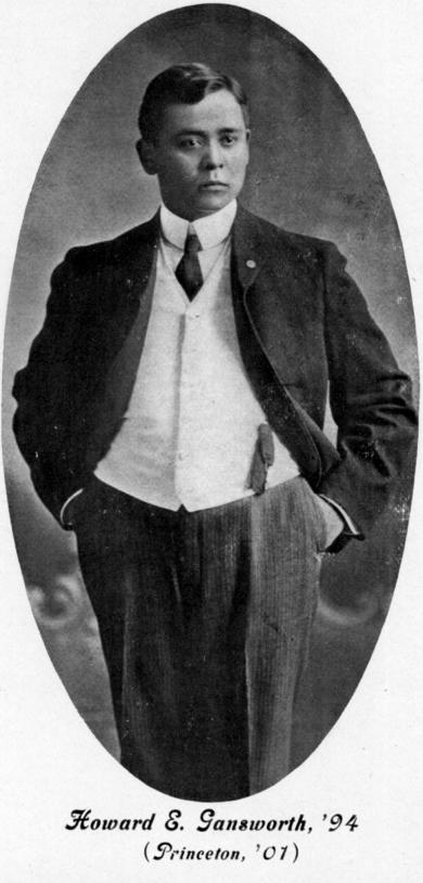 Howard E. Gansworth, c.1901