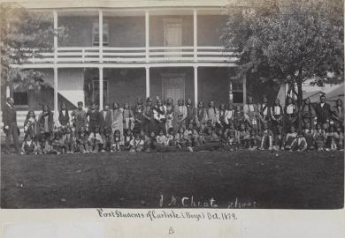 First group of male students [version 2], 1879