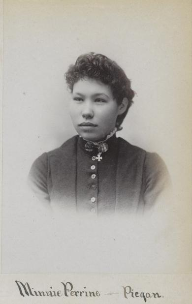 Minnie Perrine [version 2], c.1891