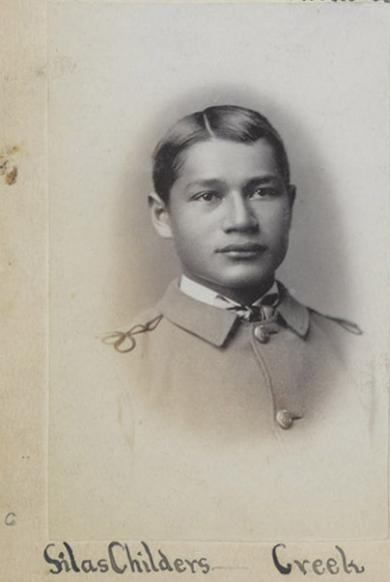 Silas Childers, c.1884