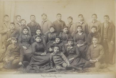 Twenty-three Apache students [version 2], 1891