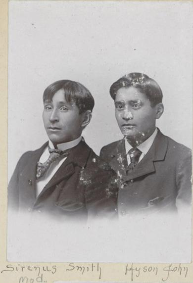 Sirenus Smith and Hyson John, c.1896
