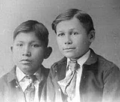 Hiram Blackchief and Edwin Moore, c.1894