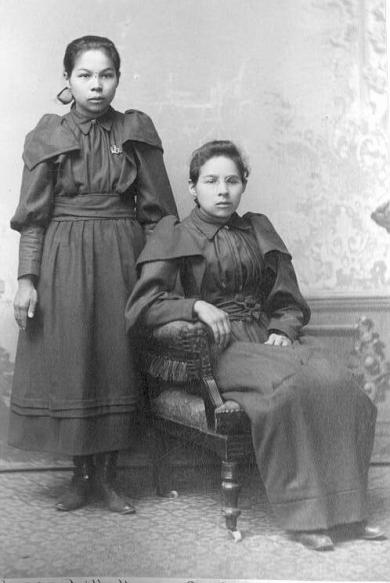 Sophia Huff and Lillie Huff, c.1892