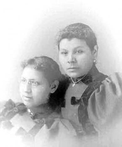 Henrietta Fremont and Julia Jonas, c.1892