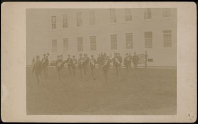 Carlisle School Band, c.1895