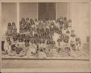 New Arrivals at the Carlisle Indian School