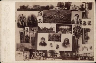 Composite Images of the Carlisle Indian School