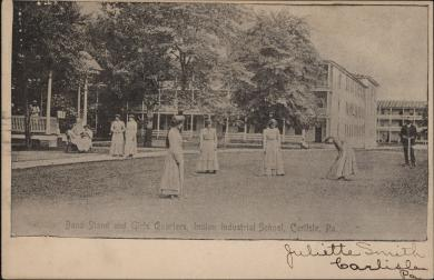 Students Playing Croquet, c.1900
