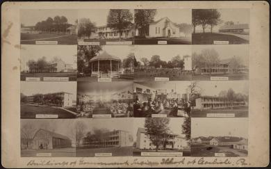 Buildings at the Carlisle Indian School, #1, c.1890