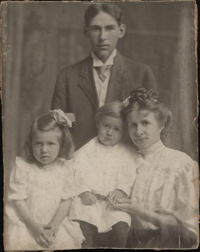 Louis Mishler and Family, c.1910