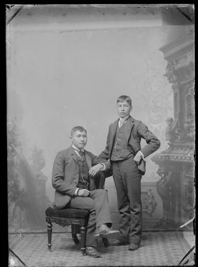 Anson Garlick and Thomas Kose, c.1887