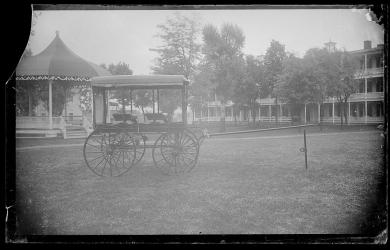 Carriage built by students, c.1885