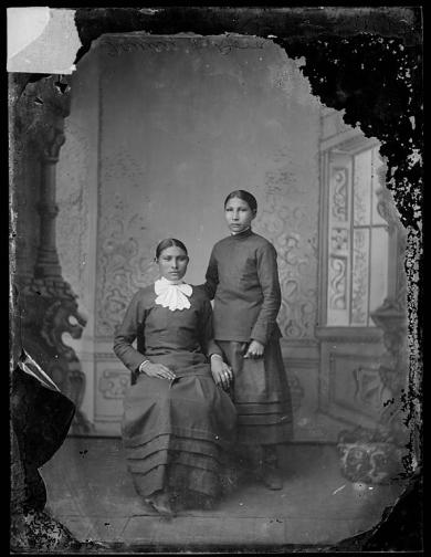Fanny and Dora, c.1880