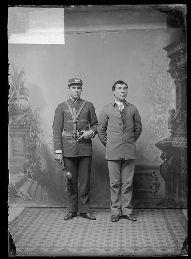 Frank Conroy and Charles Redmore, c.1885