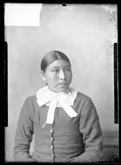 Lena Black Bear, c. 1884 [version 1]