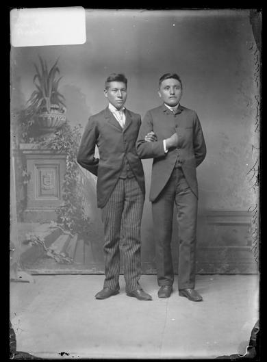 Albert Anderson and Theron Lears, c.1889