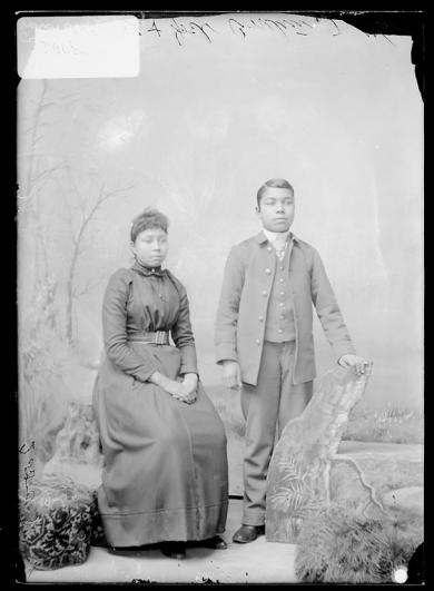 Nancy O. Cornelius and Joel Cornelius, 1891