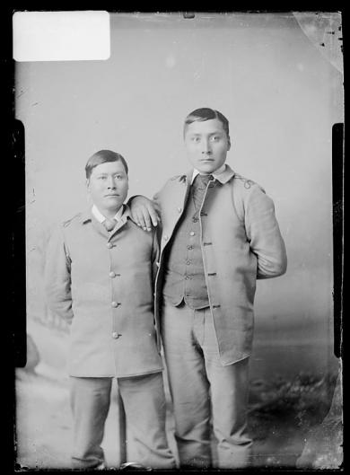 Sowcea Kinery [?] and Samuel Keryte [version 1], c.1885