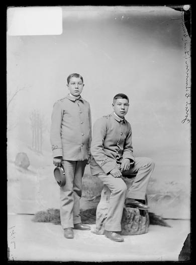 Jacob Cobmoosa and Frank Campeau, c.1889