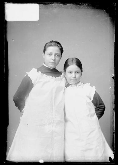 Emily Ross and Ella Ross [version 1], c.1882