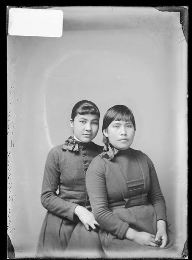 Susan Summers and Alice Sheffield, c.1890
