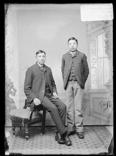 Johnson Webster and James R. Wheelock, c.1889