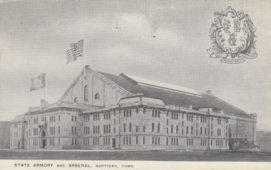 Connecticut State Armory and Arsenal, c.1915