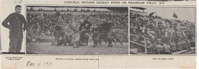 Carlisle Indians Defeat Penn on Franklin Field, 1911