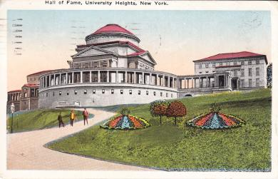 Hall of Fame, University Heights, c.1918