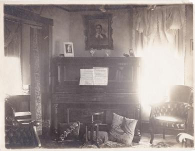 Benjamin Caswell's Parlor, c.1910