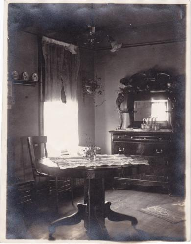 Benjamin Caswell's Dining Room, c.1910