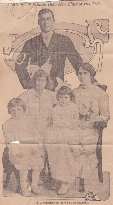 Edward L. Rogers and Family, c.1913