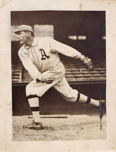 Charles Bender in A's Uniform, c.1910