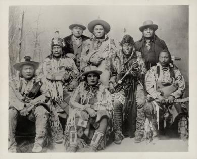 Piegan Chiefs (Blackfoot Confederacy), c.1891