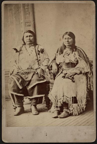 Ouray and his wife Chipeta
