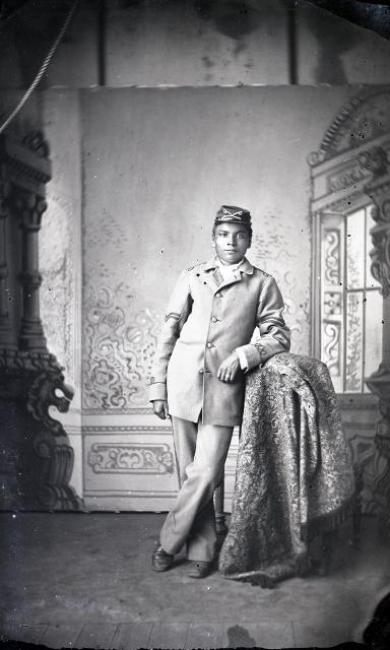 Unidentified male student #21, c.1880
