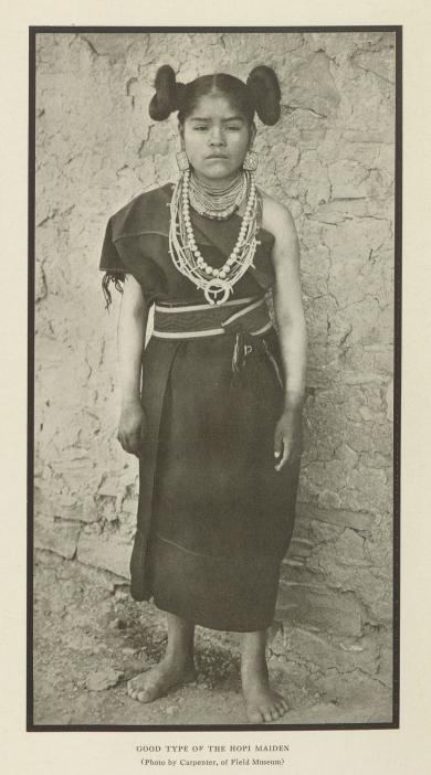Good Type of the Hopi Maiden