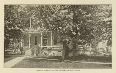 Administration Building of the Carlisle Indian School