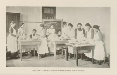 Industrial Training - Lesson in Domestic Science