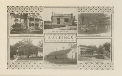 Six Buildings at the Carlisle Indian School